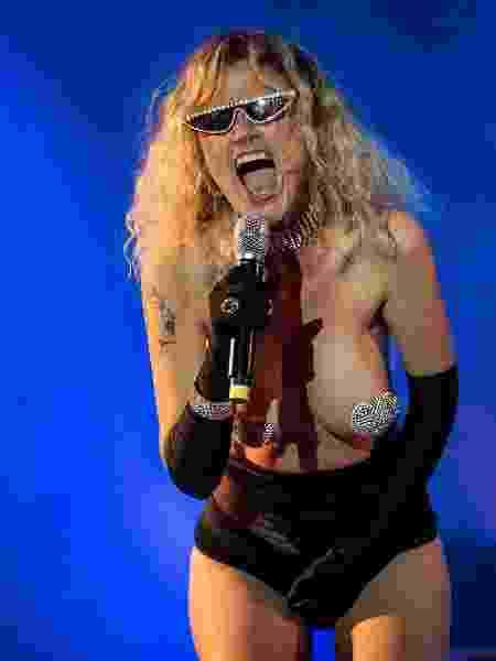 Ana Cañas, em apresentação no Rock in Rio - Eduardo Anizelli/Folhapress