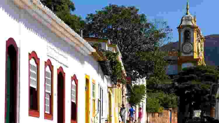 Casario colonial atrai turistas de todo o mundo à pequena cidade mineira de Tiradentes - Agência Brasil