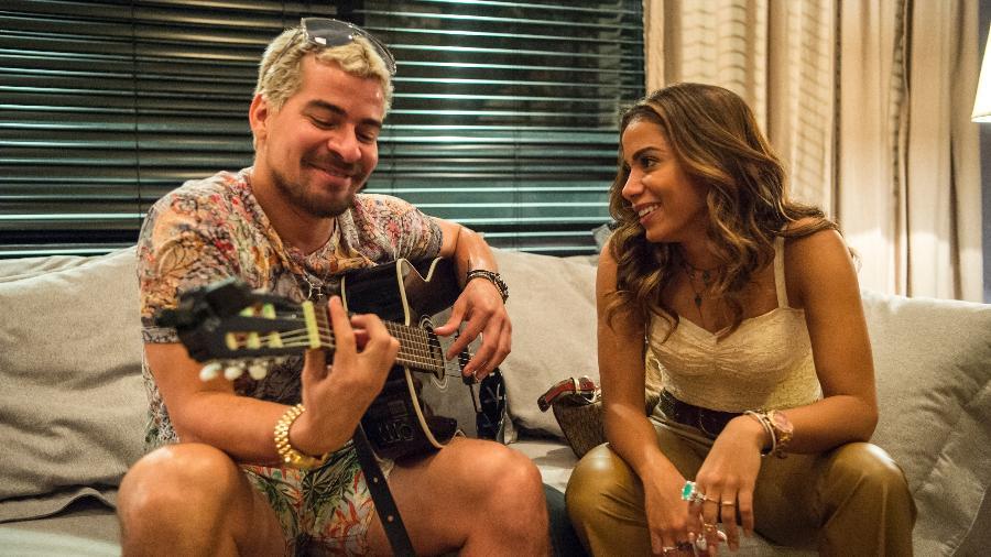 Ryan (Thiago Martins) e Sabrina (Anitta) em Amor de Mãe - Globo/Estevam Avellar