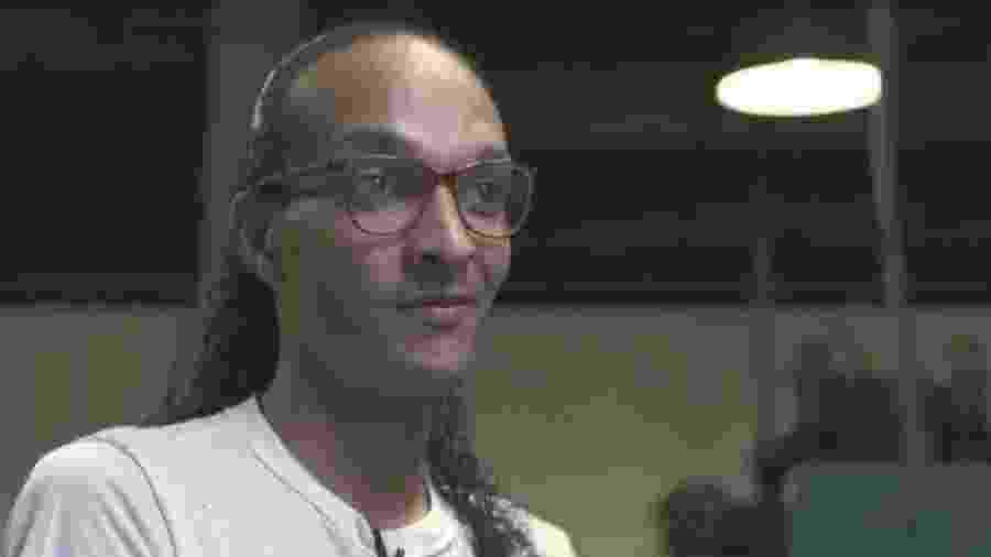 A detenta Suzy, mostrada em matéria de Drauzio Varella para o Fantástico - Reprodução