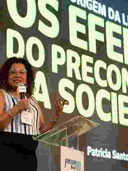 Patrícia Santos criou a EmpregueAfro, que realiza recrutamento e seleção de profissionais e estudantes negros - Arquivo Pessoal