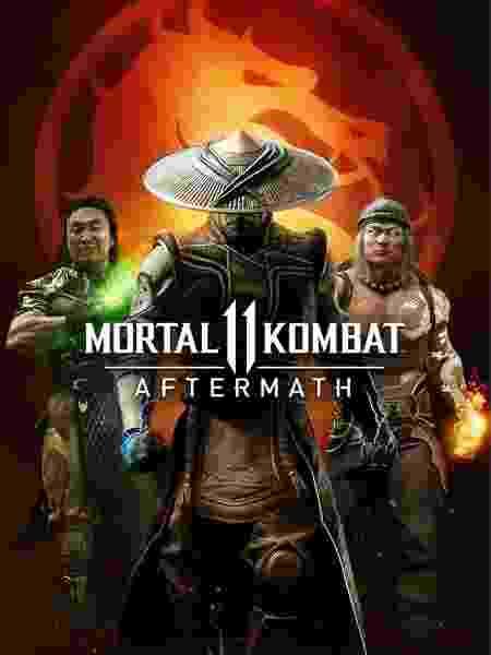 Mortal Kombat 11 Aftermath capa - Divulgação/Warner - Divulgação/Warner