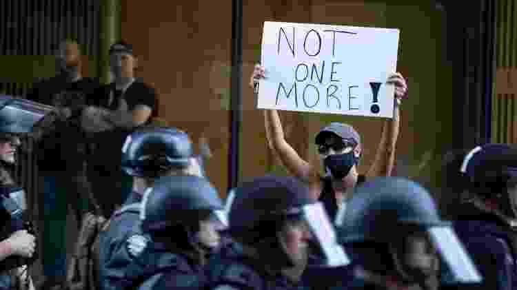protesto Black Lives Matter - Brett Carlsen/Getty Images - Brett Carlsen/Getty Images