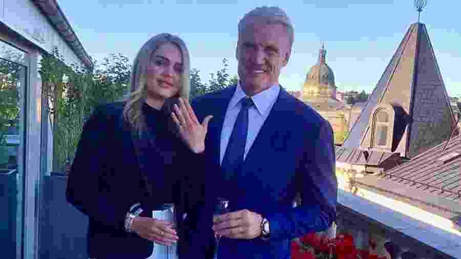 Dolph Lundgren fica noivo de Emma Krokdal - Reprodução/Instagram