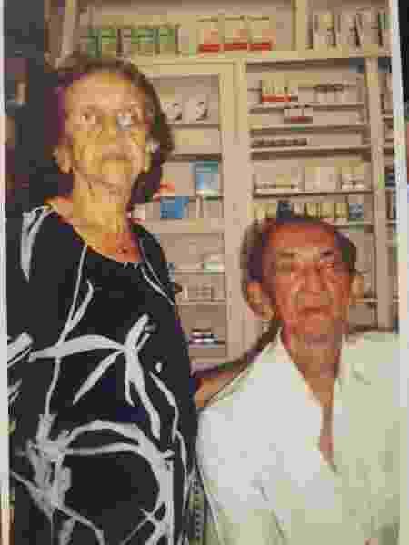 Os avós do escritor Raimundo Neto  - Acervo Pessoal - Acervo Pessoal
