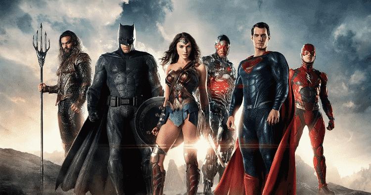 Os heróis principais de 'Liga da Justiça' - Reprodução - Reprodução
