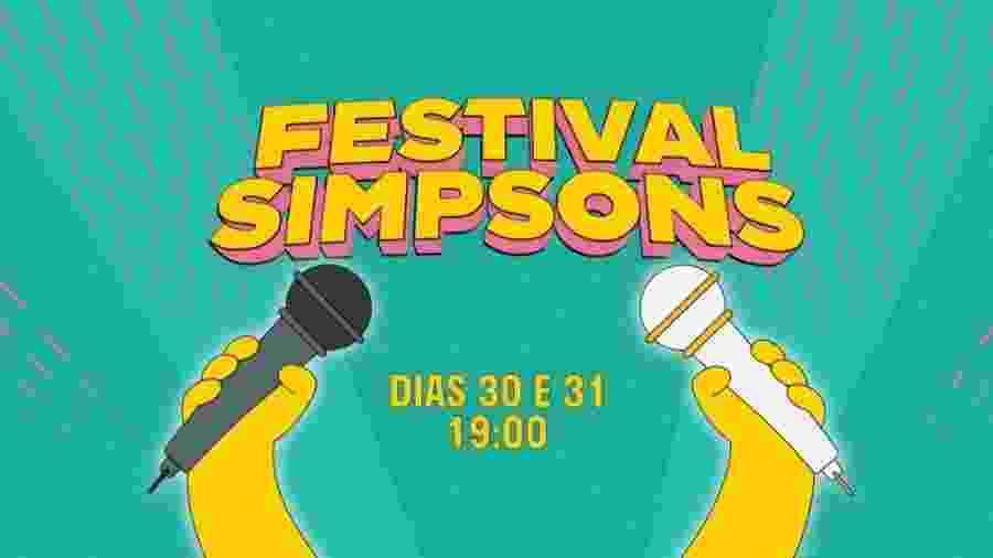 """""""Festival Simpsons"""" reúne grandes nomes da música em ação solidária - Divulgação/Fox Channel"""