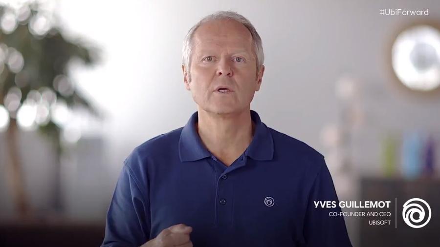 Yves Guillemot é o CEO e um dos fundadores da Ubisoft - Reprodução/Twitter
