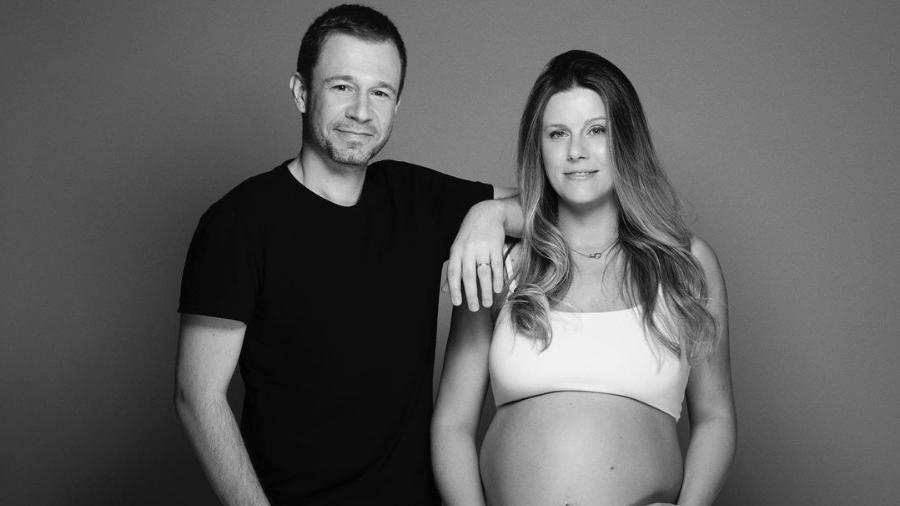 Tiago Leifert e Daiana Garbin são pais de Lua, que nasceu em outubro - Foto: Reprodução/Instagram