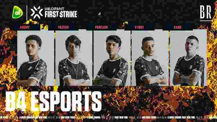 B4 eSports - Divulgação/RiotGamesBrasil - Divulgação/RiotGamesBrasil