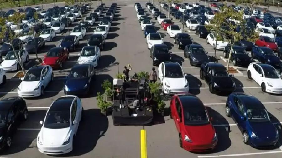 Frota do Tesla Model S - Divulgação