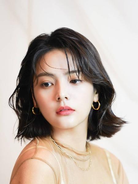 A atriz e modelo sul-coreana Song Yoo-jung - Reprodução/Instagram