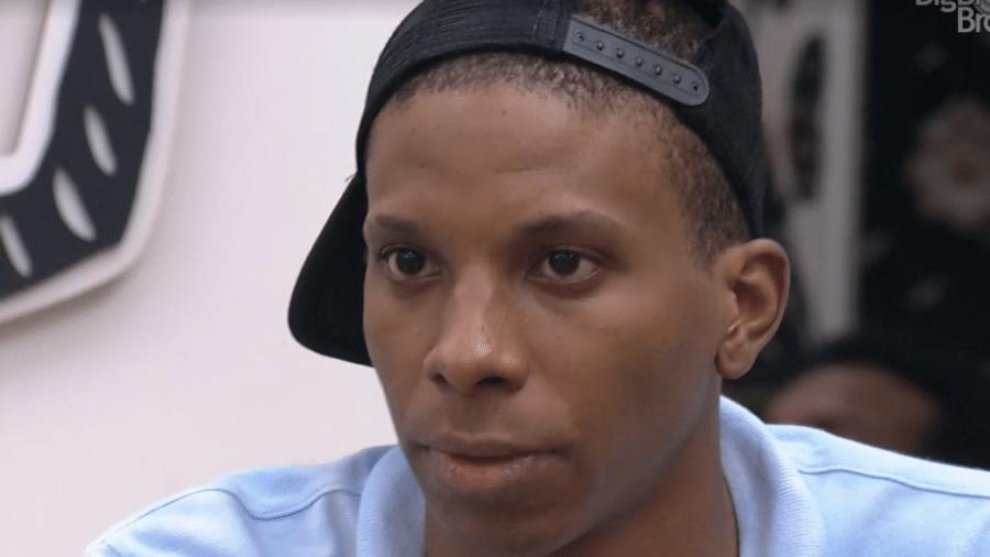 BBB21: Lucas Penteado se desentendeu com Nego Di, sua dupla na prova da imunidade - Reprodução/TV Globo
