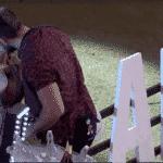BBB 21: Carla e Arthur se beijam - Reprodução/Globoplay
