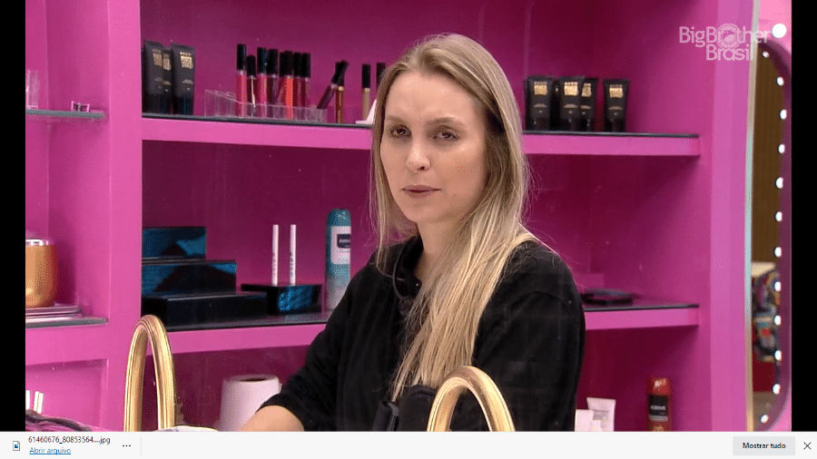 Carla Diaz no BBB 21 - Reprodução/Globoplay