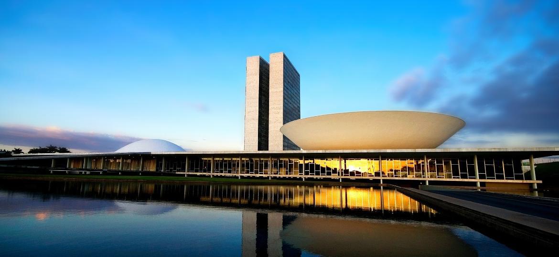 Congresso Nacional, em Brasília, que comemora 61 anos - Getty Images