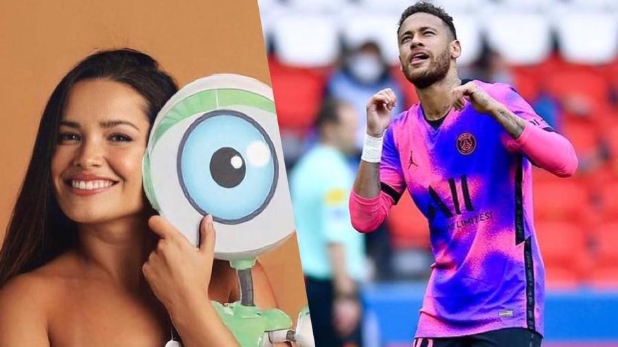 """Juliette está na final do """"BBB 21""""; Neymar disputa a semifinal da Liga dos Campeões com o PSG - Reprodução / Instagram"""