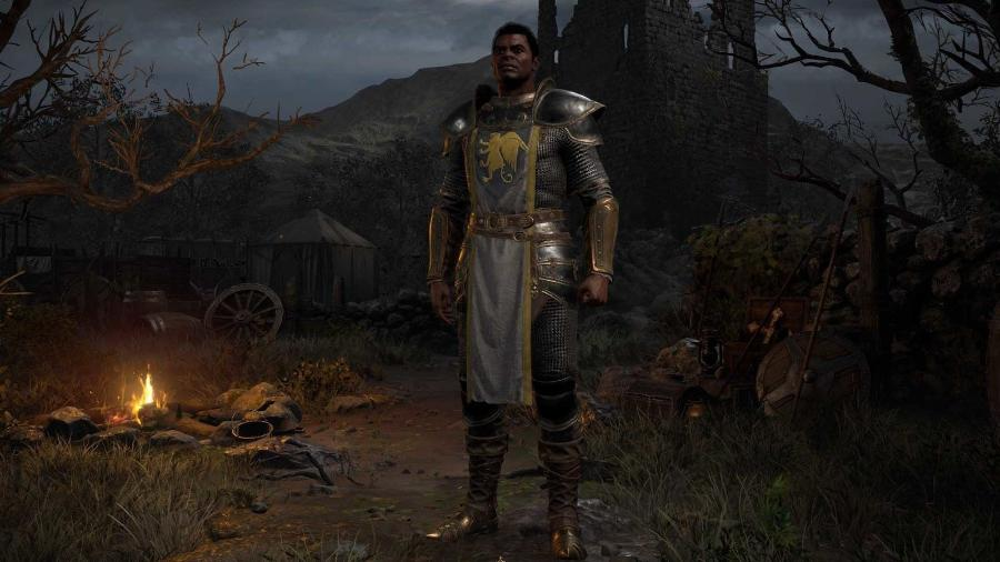 Diablo 2 Resurrecterd: Paladino - Divulgação/Blizzard