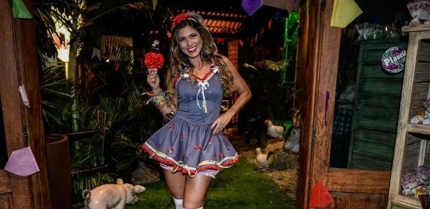"""A atriz e apresentadora Lívia Andrade estava cotada para ir para """"A Fazenda"""""""