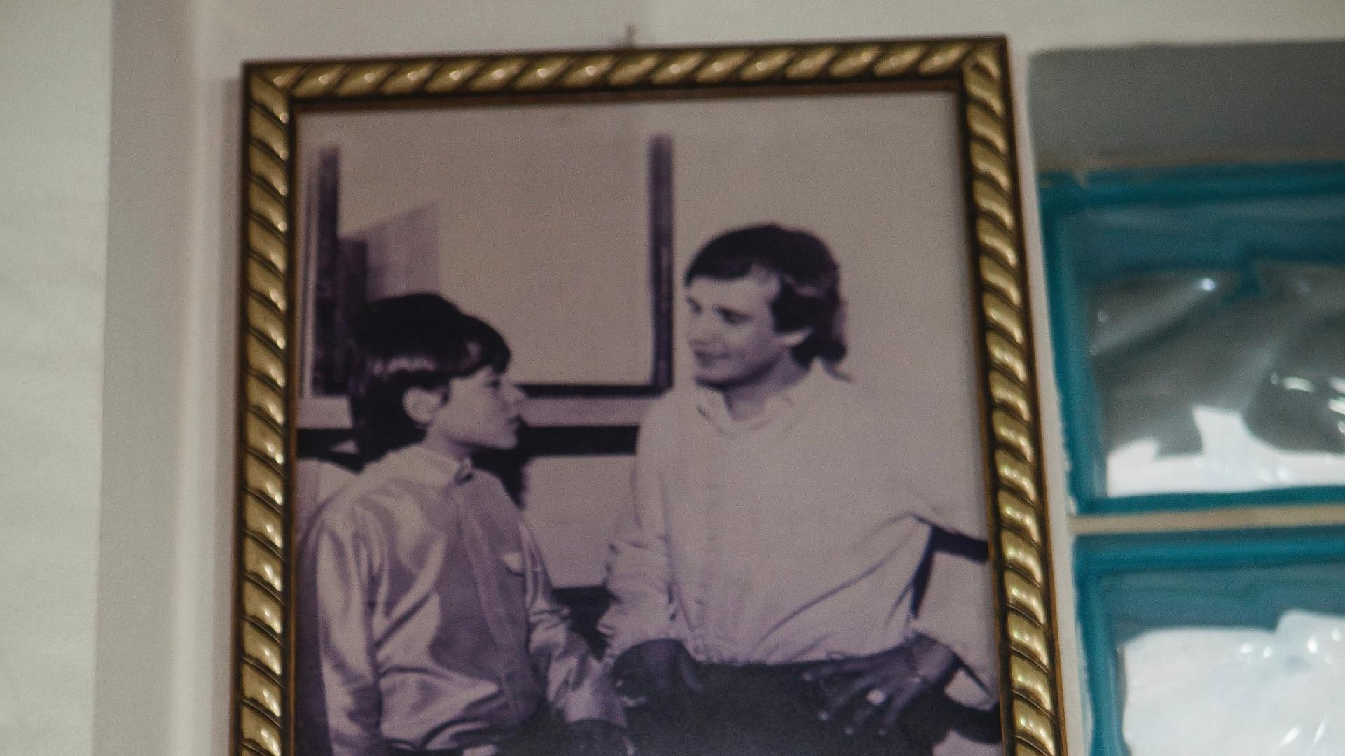 Registro do primeiro encontro entre Ed Carlos e Roberto Carlos
