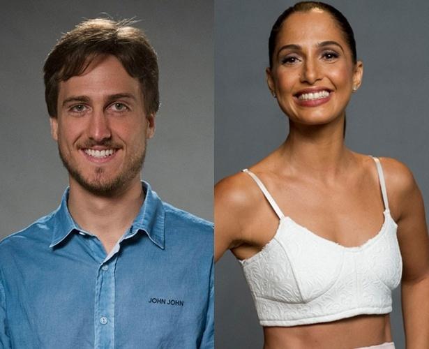 Igor Angelkort e Camila Pitanga se trabalharam juntos em