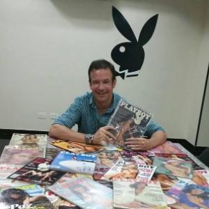 """André Sanseverino: de colecionador a vice-presidente e publisher da nova """"Playboy"""" - Arquivo Pessoal"""