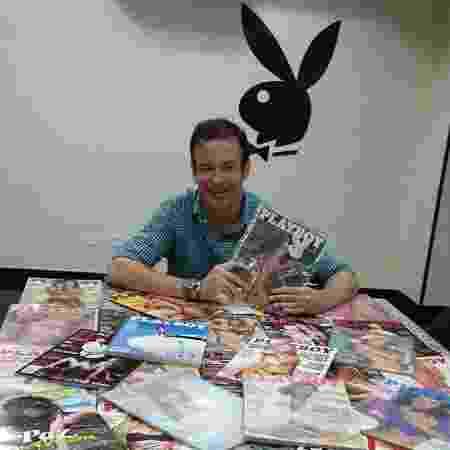 """Publisher e vice-presidente da """"Playboy"""", André Sanseverino foi afastado após ser acusado de assédio - Arquivo Pessoal"""