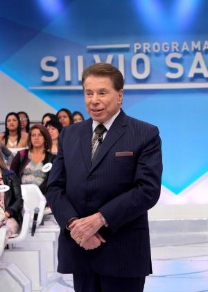 Silvio Santos reclama de presente de Ivete Sangalo em seu programa no SBT - Lourival Ribeiro/SBT