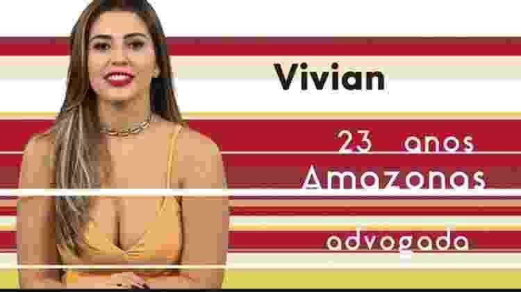 """Vivian """"BBB17"""" - Reprodução/TV Globo - Reprodução/TV Globo"""