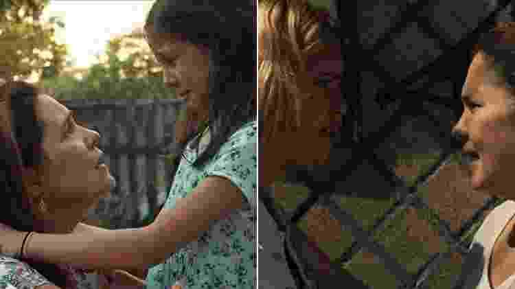 """Adriana Esteves com Letícia Braga (à esquerda) e Julia Dalavia na minissérie """"Justiça"""" - Reprodução/TV Globo - Reprodução/TV Globo"""