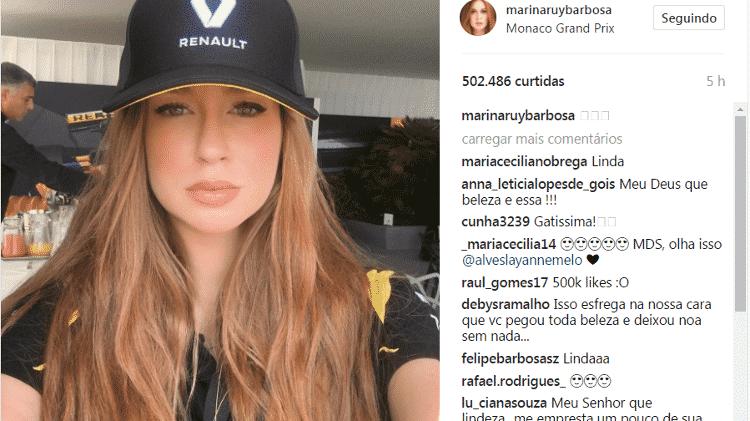 Marina Ruy Barbosa posa de boné em Mônaco e fãs 'surtam': 'Surra de beleza' - Reprodução/Instagram - Reprodução/Instagram