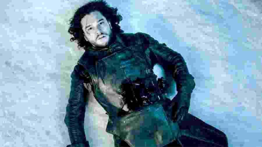 """Jon Snow é esfaqueado até a morte em cena da quinta temporada de """"Game of Thrones"""" - Divulgação/HBO"""