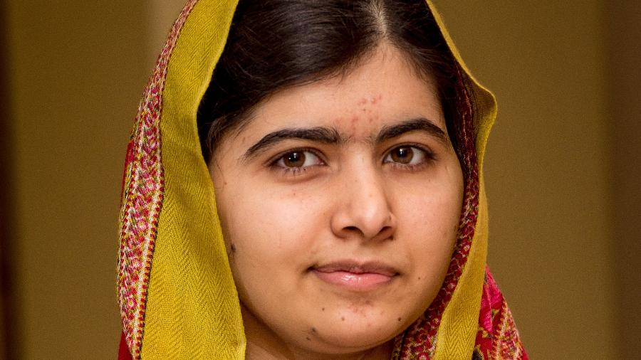 Malala Yousafzai, vencedora do Nobel da Paz em 2014. - Getty Images
