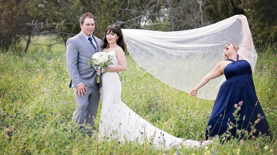 Sharilyn Marie Wester no casamento da amiga Rebecca Foster - Ashley Hempel Photography