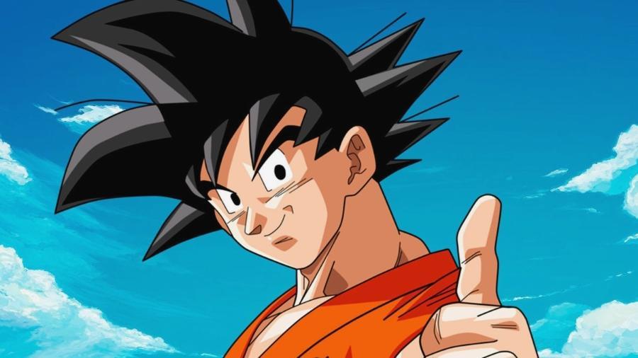 """O personagem Goku, da animação """"Dragon Ball"""" - Reprodução"""