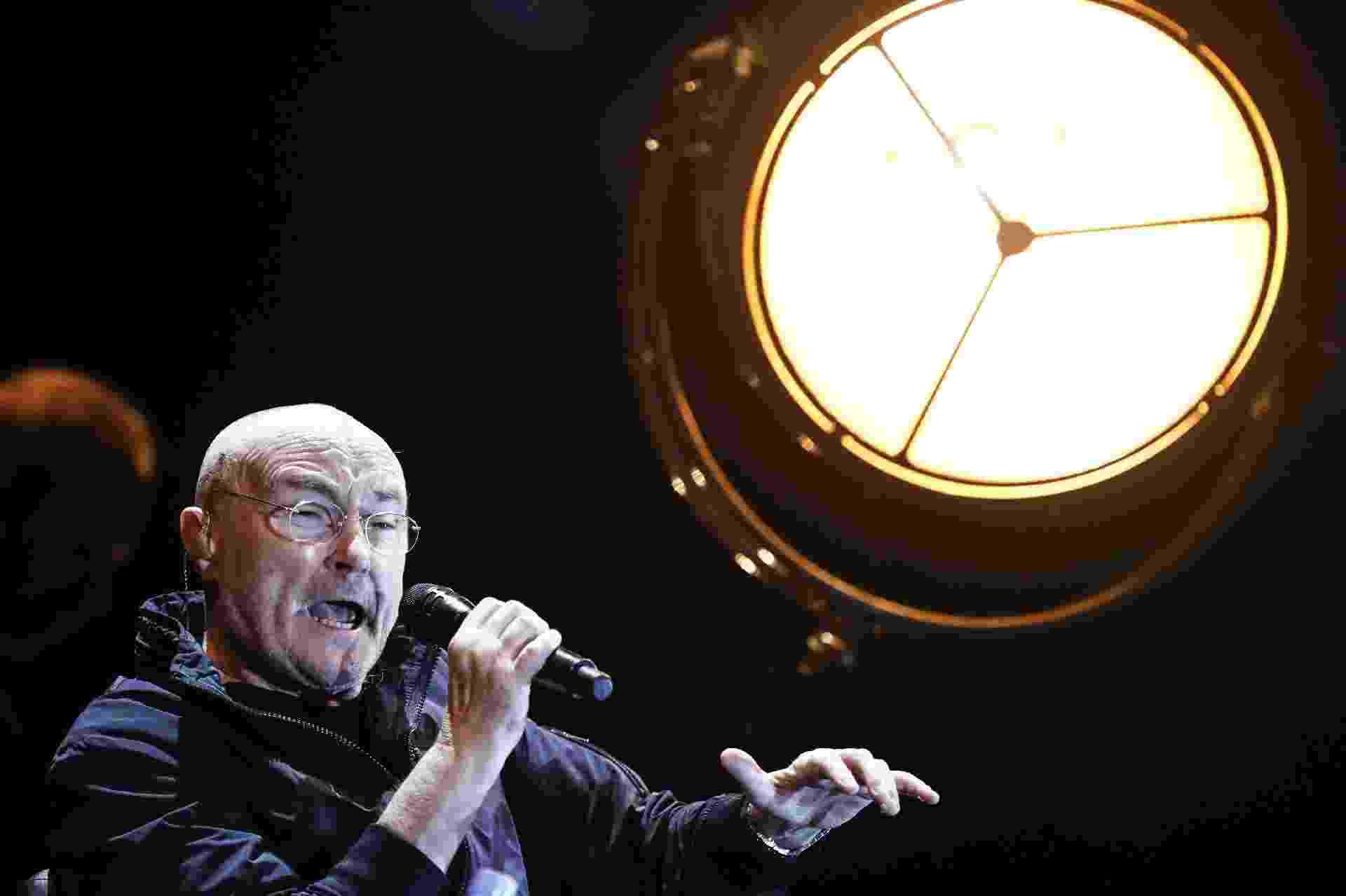 """Após uma década longe dos palcos, o músico britânico, ex-vocalista e baterista da banda Genesis, voltou ao Brasil com a turnê """"The Legendary Phil Collins Live"""" - Lucas Lima/UOL"""