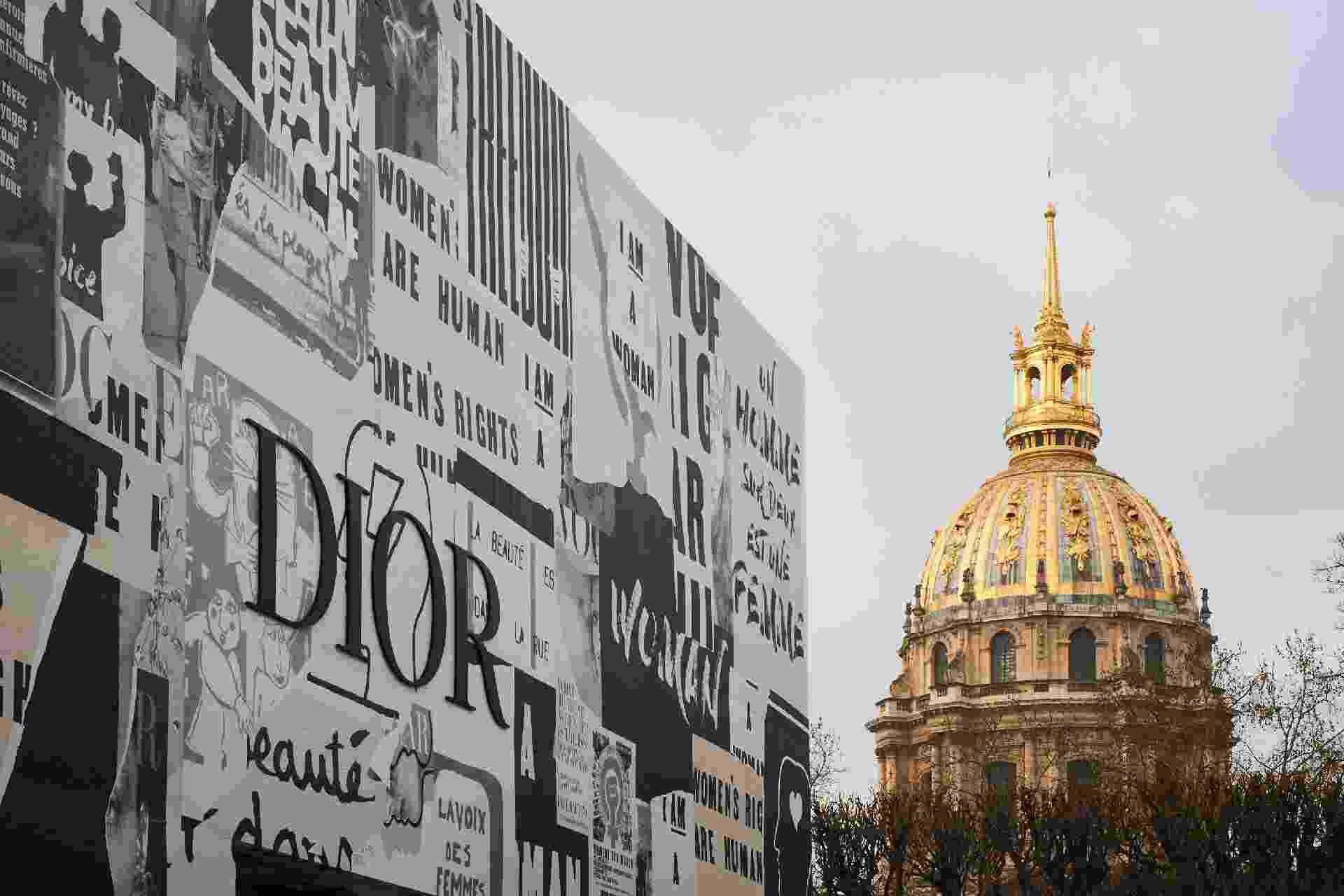 O cenário do desfile Ready-to-Wear Outono/Inverno 2018 da Dior na Semana de Moda de Paris - Divulgação
