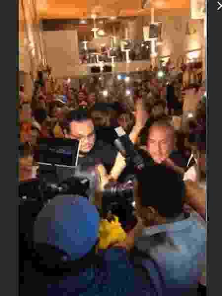 Multidão recepciona Gleici no aeroporto de Rio Branco  - Reprodução/Instagram - Reprodução/Instagram