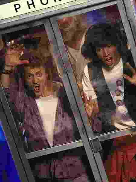 Bill e Ted no filme original, de 1989 - Reprodução - Reprodução