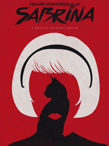 """Pôster da nova versão de """"Sabrina, a Aprendiz da Feiticeira"""" - Divulgação/Netflix"""
