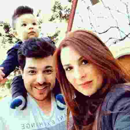 Cezar Lima se casou com a empresária Carol Zoller e teve um filho, Vicente - Reprodução/Instagram - Reprodução/Instagram