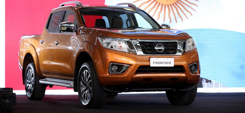 Nissan Frontier produzida na Argentina: maior volume da produção será destinado para o Brasil - Divulgação