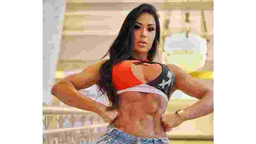 Gracyanne Barbosa chamou a atenção em uma das maiores feiras fitness nos EUA - Reprodução/Instagram/@graoficial