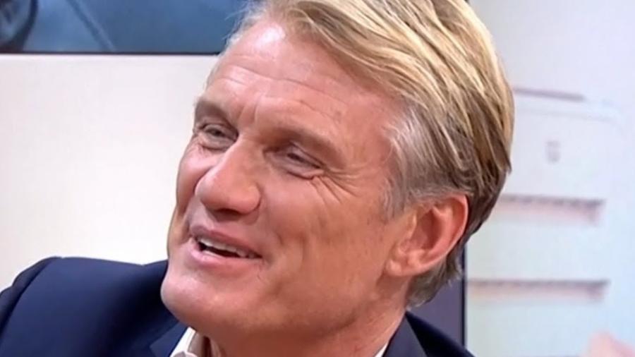 """O sueco Dolph Lundgren, 61 anos, que reprisa o papel de Ivan Drago em """"Creed 2"""" - Reprodução"""