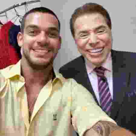 Caique Aguiar e Silvio Santos - Reprodução/Instagram/caiqueaguiaroficial - Reprodução/Instagram/caiqueaguiaroficial