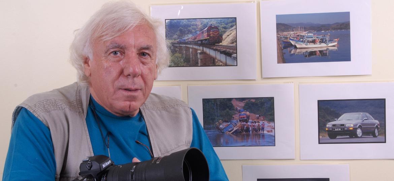 """Larangeira, 60 mil imagens: """"Pela minha experiência faço poucas fotos. Em Interlagos, sei onde as coisas acontecem"""" - André Larangeira/Acervo"""