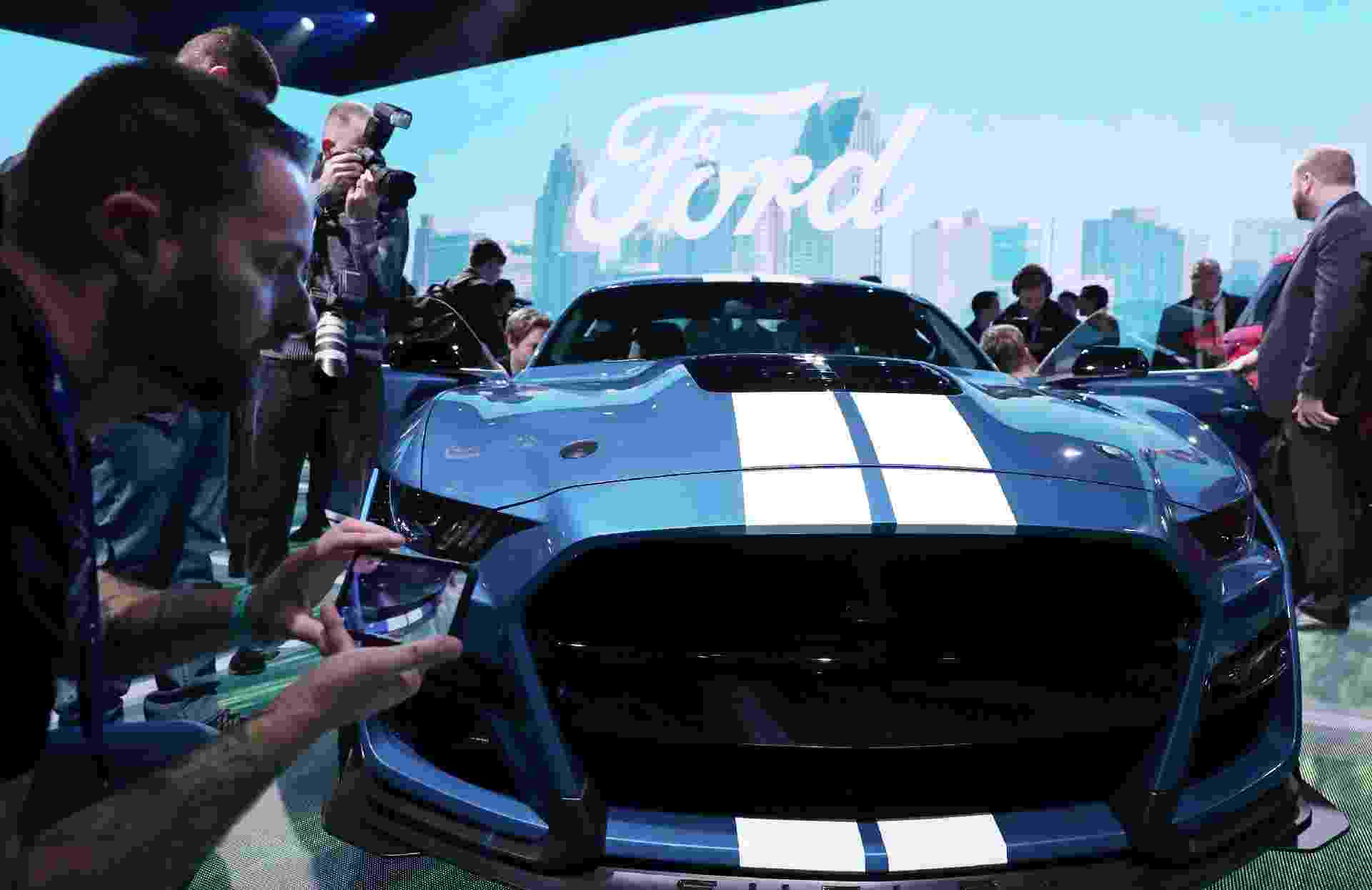Ford Mustang Shelby GT500 2020 - Jonathan Ernst/Reuters