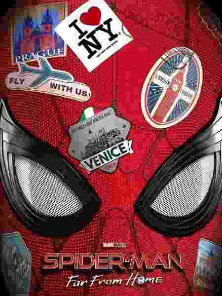 """Pôster de """"Homem Aranha: Longe de Casa"""" - Divulgação - Divulgação"""