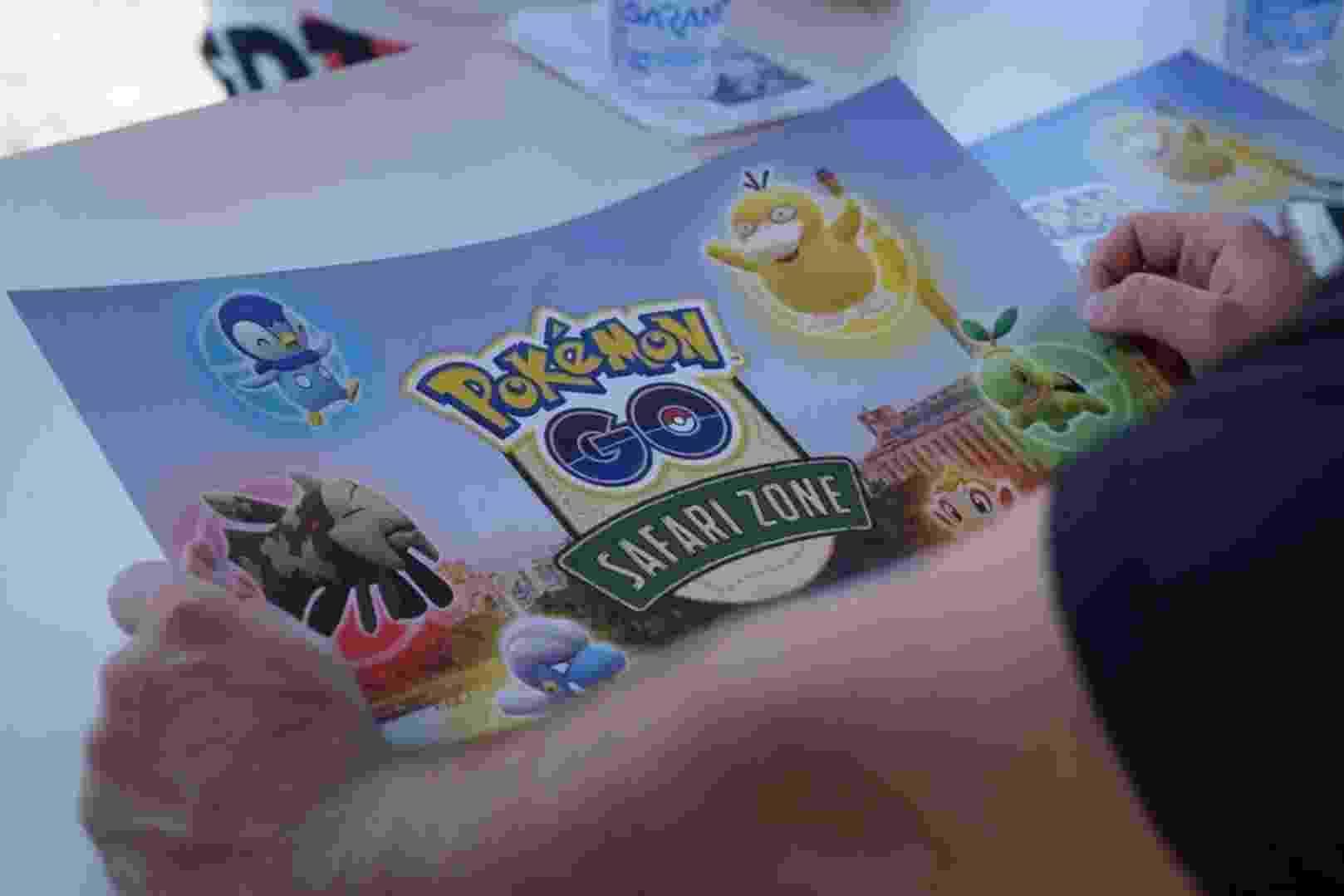 """Zona de Safári """"Pokemon Go"""" acontece em Porto Alegre - Divulgação/FD Comunicação"""