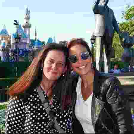 Monica já acompanhou outras famosas em visitas à Disney, como a cantora Ivete Sangalo - Arquivo pessoal